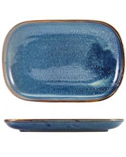 Półmisek 34.5 x 23.5 cm - Terra Porcelain Aqua Blue GenWare