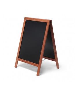 Potykacz drewniany ECONOMY 55 x 85 cm - jasny brąz