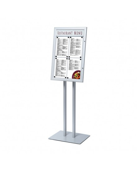 Wolnostojący stojak na menu 4 x A4