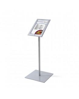 Zewnętrzny stojak na menu LED 2 x A4