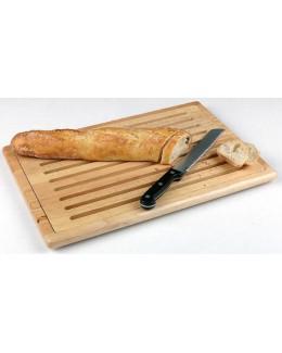 Deska prostokątna drewniana do krojenia pieczywa 475 x 320 mm - APS Rubberwood