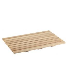 Deska prostokątna drewniana do krojenia pieczywa GN 1/1 530 x 325 mm - APS