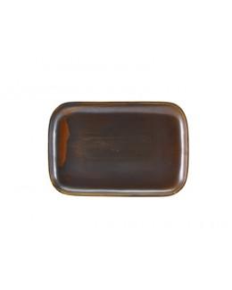 Półmisek 34.5 x 23.5 cm - Terra Porcelain Rustic Copper GenWare
