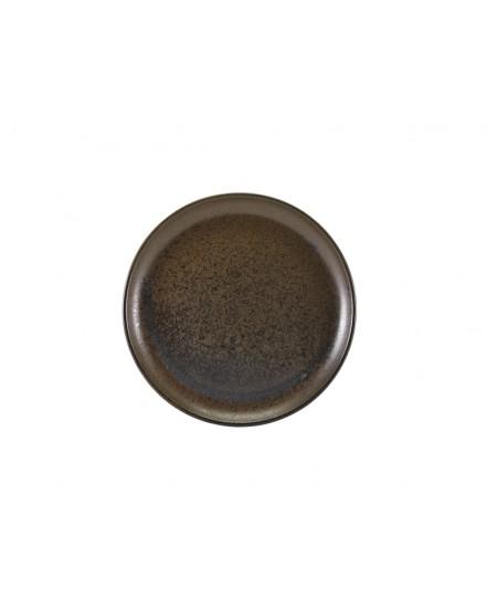 Talerz coupe 190 mm Black Terra Porcelain GenWare