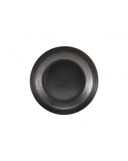 Miska coupe 200 mm - Black Terra Porcelain GenWare