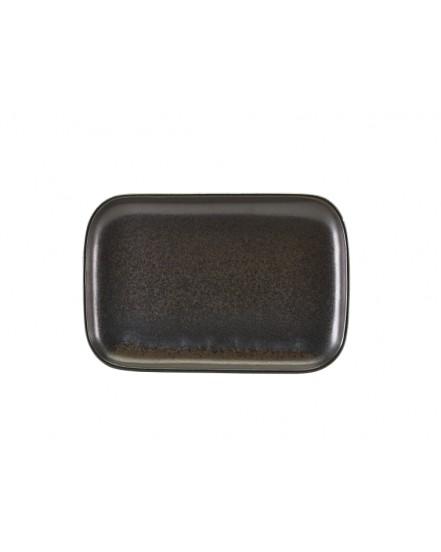Półmisek 34.5 x 23.5 cm - Black Terra Porcelain GenWare