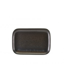 Półmisek 29 x 19.5cm - Black Terra Porcelain GenWare