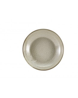 Miska coupe 200 mm - Grey Terra Porcelain GenWare