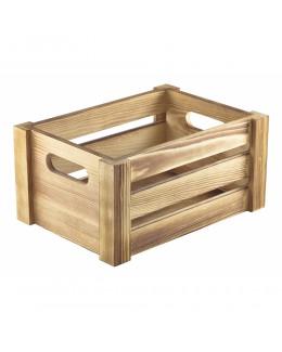 Pojemnik drewniany na przyprawy Rustic 22,8 x 16,5 x 11 cm - GenWare
