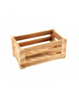 Skrzynka drewniana na przyprawy Rustic 27 x 16 x 12 cm - GenWare