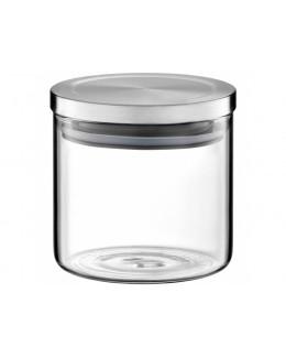 Słoik AMBITION Roxy z metalową pokrywką 600 ml