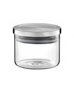 Słoik AMBITION Roxy z metalową pokrywką 440 ml