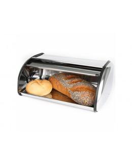 Chlebak ze stali nierdzewnej 36 x 23 x 15 cm DOMOTTI