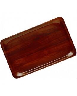 Taca gastronomiczna prostokątna CAPRI - kolor orzechowy