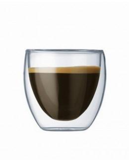 Zestaw 2 szklanek 80 ml Pavina - BODUM