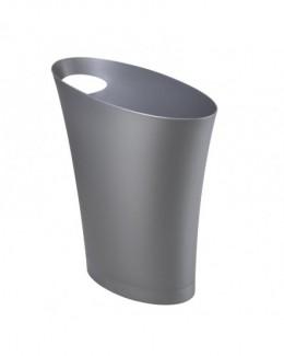 UMBRA - Otwarty kosz na śmieci, srebrny, SKINNY