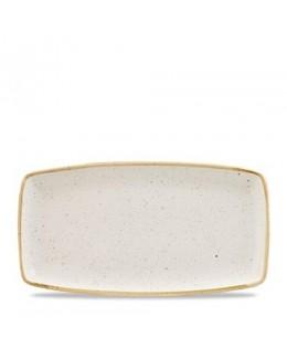 Półmisek 295 x 150 mm - CHURCHILL, Stonecast Barley White