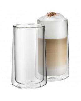 Zestaw 2 szklanek do latte z podwójnymi ściankami - WMF