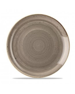 Talerz płytki 165 mm - CHURCHILL, Stonecast Peppercorn Grey