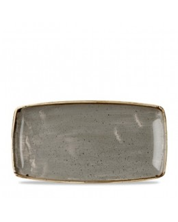 Półmisek 350 x 185 mm - CHURCHILL, Stonecast Peppercorn Grey