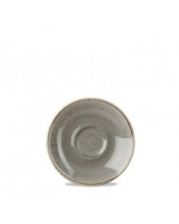 Spodek 118 mm - CHURCHILL, Stonecast Peppercorn Grey