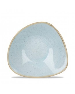 Miska trójkątna 0,37 l jasnoniebieski - CHURCHILL Stonecast Duck Egg