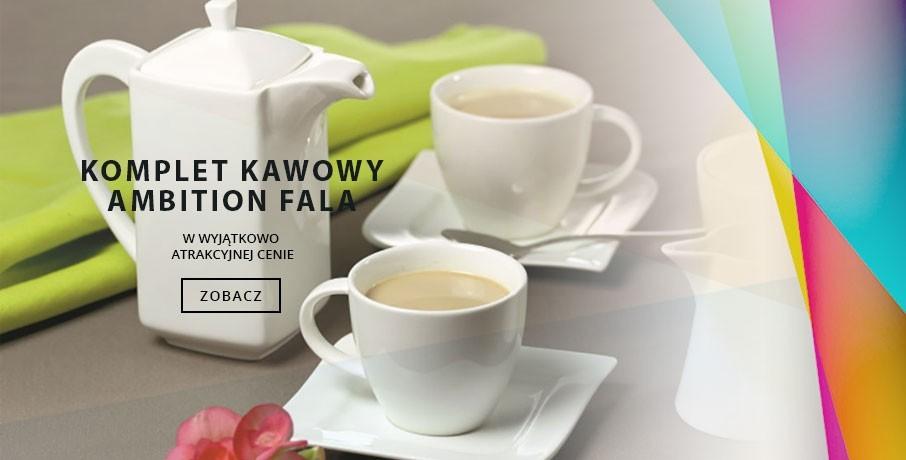 Komplet kawowy Ambition Fala