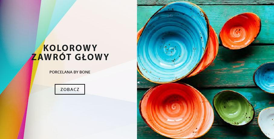 Porcelana Kolorowa - By Bone